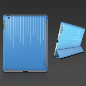 XtremeMac Microshield Silkscreen Soft Case for iPad 3 & iPad 4, Blue: Picture 1 regular