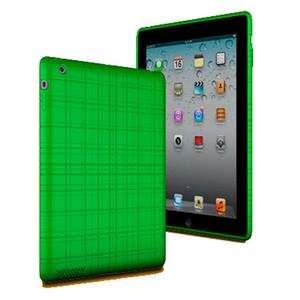 XtremeMac Tuffwrap Case for iPad 3 & iPad 4, Lime Green: Picture 1 regular