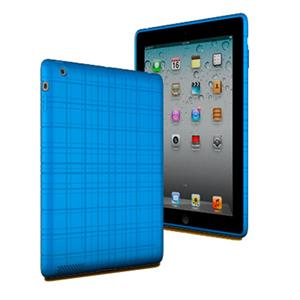XtremeMac Tuffwrap Case for iPad 3 & iPad 4, Peacock Blue: Picture 1 regular
