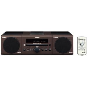 Yamaha MCR040BR(BROWN) Bookshelf Micro Component System: Picture 1 regular