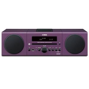 Yamaha MCR-042 Bookshelf Micro Component System, Purple: Picture 1 regular