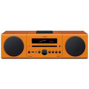 Yamaha MCR-B142 Bookshelf Micro Component System, Orange: Picture 1 regular