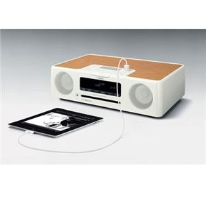 Yamaha TSX-B232 Wireless DAB/FM/CD Micro System/iPod Dock, White: Picture 1 regular