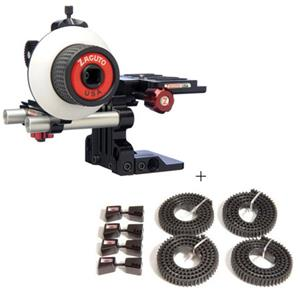 Zacuto Z-DSA Single Action - Bundle - with Z-ZG-PLK4 ZipGear Prime Lens Kit: Picture 1 regular