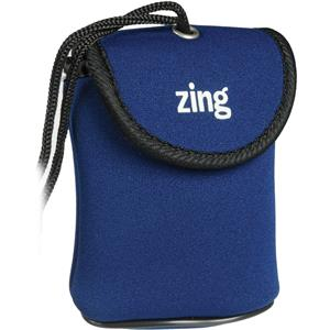 Zing Blue Neoprene Case for Small Point/Shoot Cameras: Picture 1 regular