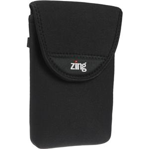 Zing Large Camera/Electronics Belt Bag Black 572331