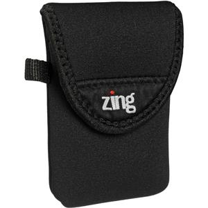 Zing Small Camera/Electronics Belt Bag, Black: Picture 1 regular