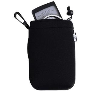 Zing Lens Pouch Medium - Black with Black Top Hem: Picture 1 regular