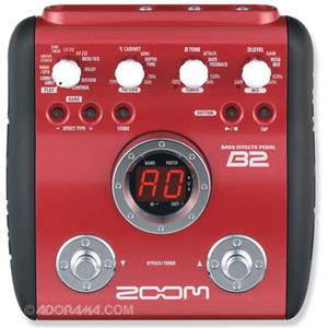Zoom B2 Bass Guitar Multi-Effects Pedal ZB2