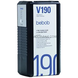 Bebob Engineering V190 Lithium-ion V-Mount Battery BE-V190