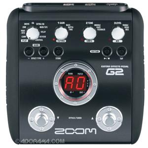 Zoom G2 Guitar Multi-Effects Pedal ZG2