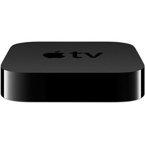 Apple TV - 1080p High Definition with Built-in IR Receiver, iCloud Integration, HDMI, 10/100BASE-T Ethernet, Micro-USB