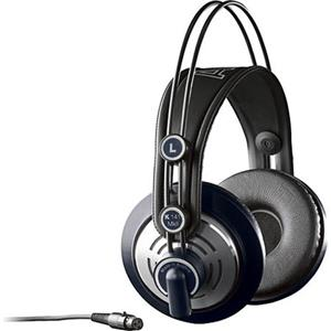 AKG K141 MKII Pro Audio On-Ear Wired Professional Semi-Open Studio Headphones (Black)
