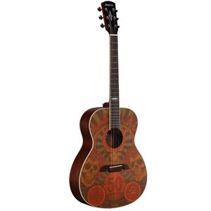 Alvarez Grateful Dead 50th Anniversary Acoustic Guitar Montage