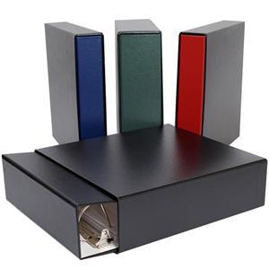 2.5 D ring binder /& slipcase set Green