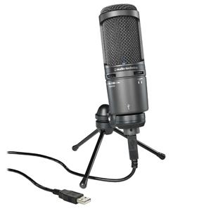 Audio-Technica AT2020USB+ Cardioid Condenser USB Microphone $99 + Free Shipping (lowest ever)