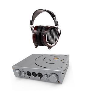 Audeze LCD-4 Over-Ear RCA Headphones + iFi Pro iCAN Headphone Amplifier