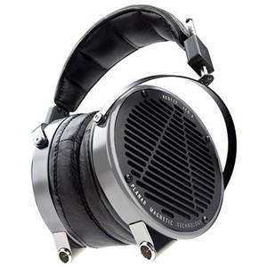 Audeze LCD-2 Planar Over-Ear Headphones with Travel Case, Aluminum with Lambskin Leather Ear Cushions