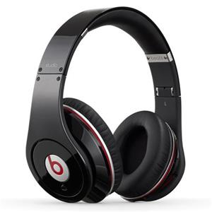 Beats by Dr. Dre 4H6G2AM/A Over-Ear 3.5mm Wired Studio Headphones (Black) - Refurbished