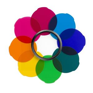 Lee Filters Berry Blue 24x21 Gel Filter Sheet