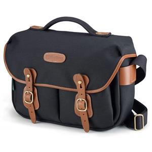 Billingham Hadley Pro Small Slr Bag Blk W Tan Leather 505201