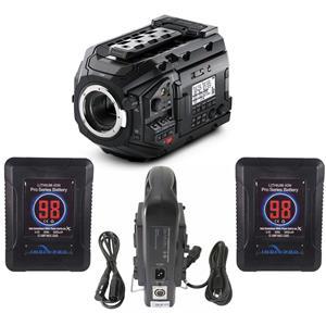 Blackmagic Design URSA Mini Pro 4 6K Camera, EF Mount, W/2x
