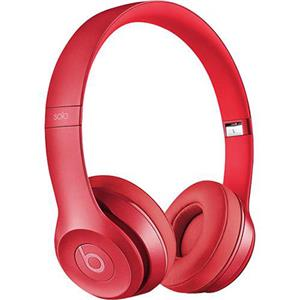 Beats by Dr. Dre Solo2 On-Ear 3.5mm Wired Headphones (Blush Rose)