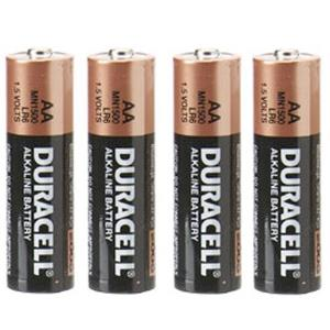 daa4 duracell aa battery 1 5 volt alkaline pack of 4. Black Bedroom Furniture Sets. Home Design Ideas