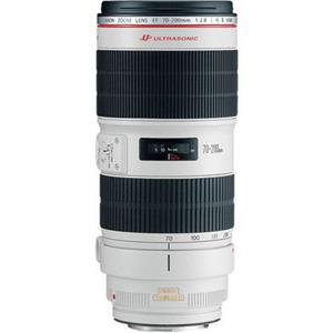 Canon EF 70-200mm f/2.8L II IS USM Lens for EOS DSLR Cameras - Open Box