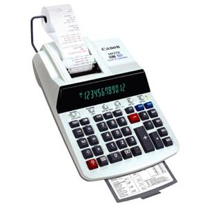 Canon MP27D 2-Color 12-Digit Desktop Printing Calculator