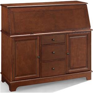Kf65001ma Crosley Sullivan Secretary Desk Mahogany
