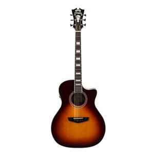 D'Angelico Premier Gramercy Grand Auditorium Acoustic-Electric Guitar (Dark Cherry Burst)