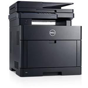Dell H625cdw Wireless Color Laser All-in-One Printer with Duplex (Black)