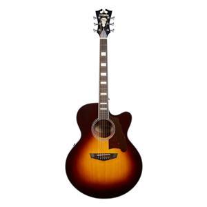 D'Angelico Premier Madison Jumbo Acoustic-Electric Guitar (Vintage Sunburst)