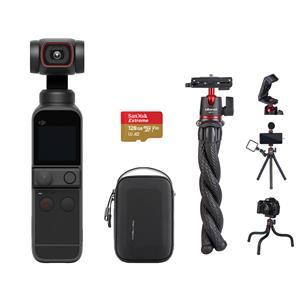 DJI Pocket 2 Handheld 3-Axis Gimbal Stabilizer with 4K Camera