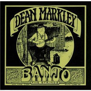 Dean markley banjo strings medium 5 string set dm2306 for Markley motors service coupons