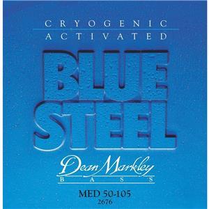 Dean markley blue steel nps bass guitar strings medium 4 for Markley motors service coupons