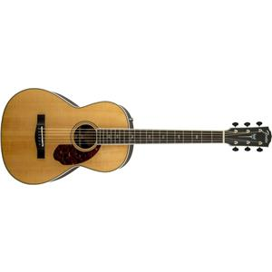 Fender Paramount PM-2 Deluxe Parlor Acoustic Electric Guitar (Natural)