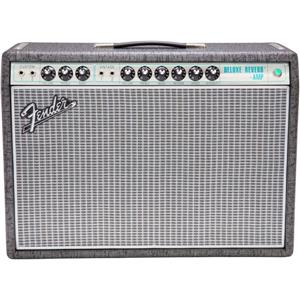 Fender Limited Edition 120V 68 Custom Deluxe Reverb Guitar Amp (Gunmetal Gray)