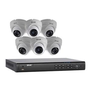 flir 8 channel 8 poe support nvr with 3tb hdd and 6 4mp