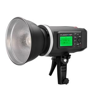 Flashpoint XPLOR 600 HSS Battery-Powered Monolight with Built-in R2 2.4GHz Radio Remote System + Transmitter