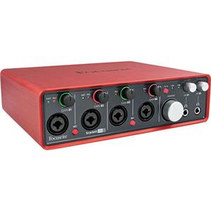 Focusrite Scarlett USB 2.0 Audio Interface Bundle