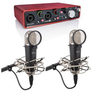 Focusrite Scarlett 2i4 Audio Interface Bundle