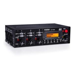 Fostex DC-R302 3-Ch. Audio Mixer