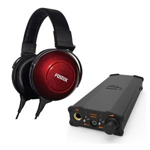 Fostex TH-900mk2 Over-Ear Wired 1.5 Tesla Stereo Headphones + iFi micro iDSD Black Label Edition