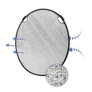 Glow Collapsible Circular Wind Proof Reflector with Handles