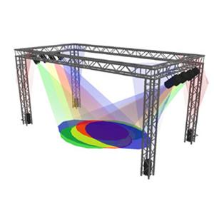 Sq 10 20 global truss 10x20 39 rectangular trade show booth for Truss package cost