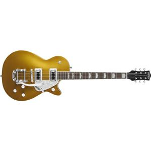 Gretsch G5438T Electromatic Pro Jet Electric Guitar with Bigsby Tailpiece (Gold)