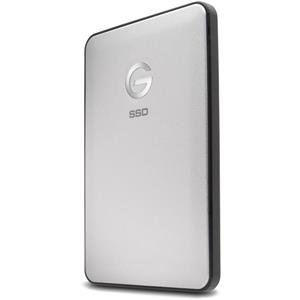 G-Technology 0G05268 1TB USB 3.1 Slim Type-C Portable External Solid State Drive (Silver)