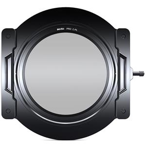 iKan NiSi V5 100mm Aluminum Filter Holder Kit with Adapter Rings and Integrated CPL